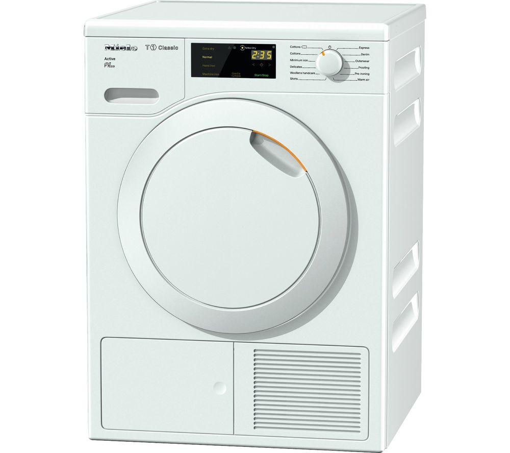 MIELE Active TDB220 7 kg Heat Pump Tumble Dryer - White