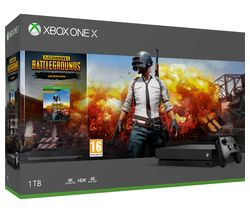 MICROSOFT Xbox One X with PlayerUnknown's Battlegrounds