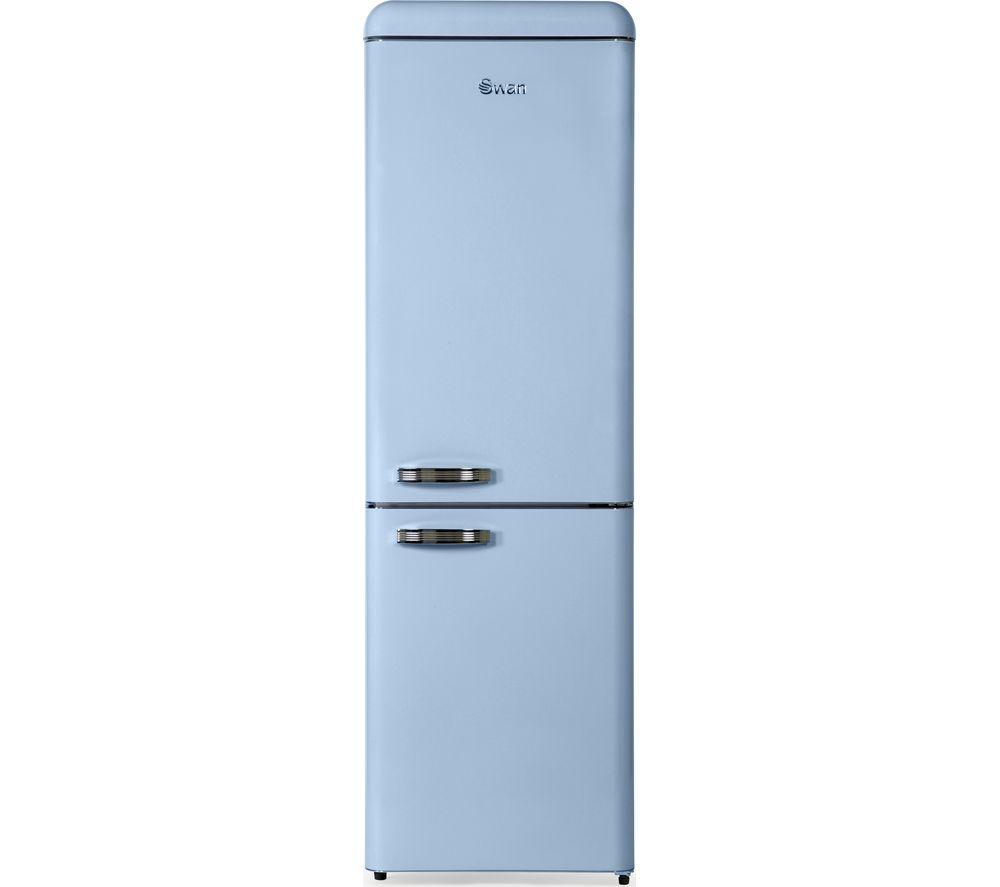 SWAN SR11020BN 70/30 Fridge Freezer - Blue