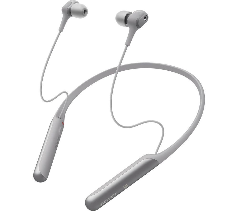 SONY WI-C600N Wireless Bluetooth Noise-Cancelling Earphones - Grey
