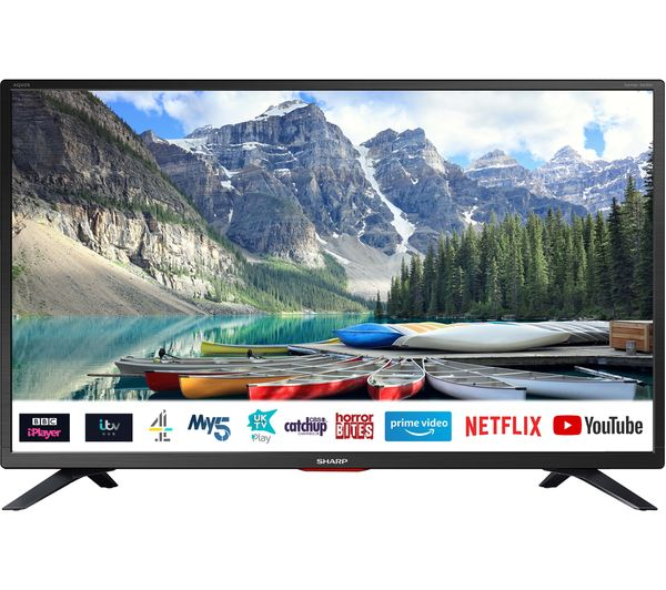 "Image of SHARP 1T-C32BC5KH2FB 32"" Smart HD Ready LED TV"