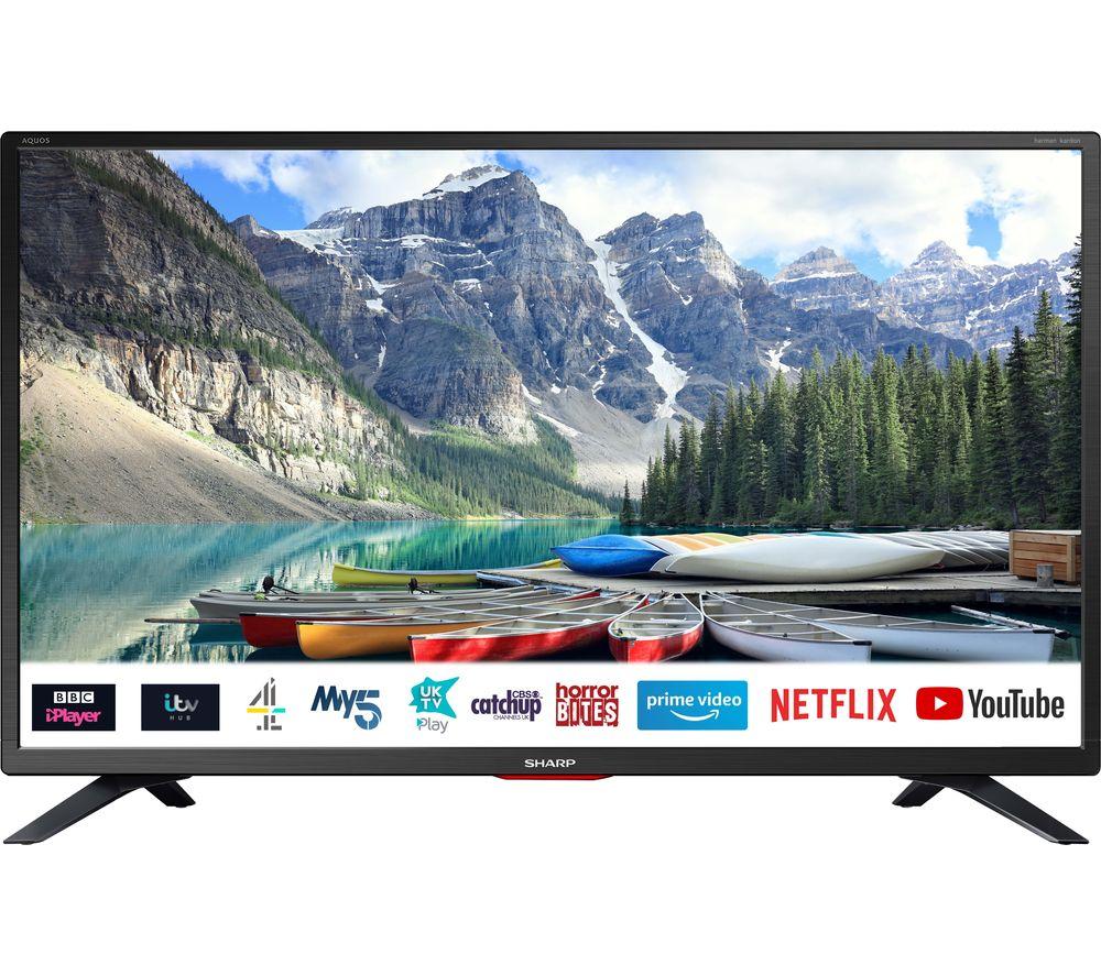 "SHARP 1T-C32BC5KH2FB 32"" Smart HD Ready LED TV"