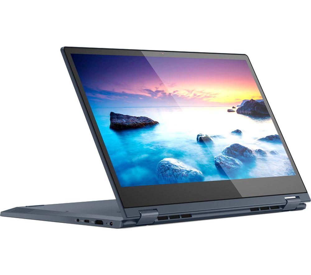 "LENOVO IdeaPad C340 14"" Intel® Pentium™ 2 in 1 Laptop - 128 GB SSD, Blue"