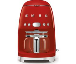 SMEG 50's Retro DCF02RDUK Filter Coffee Machine - Red