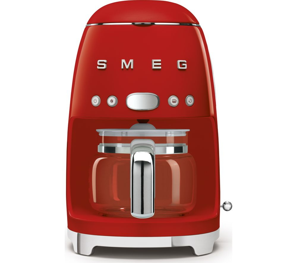SMEG 50s Retro DCF02RDUK Filter Coffee Machine - Red, Red