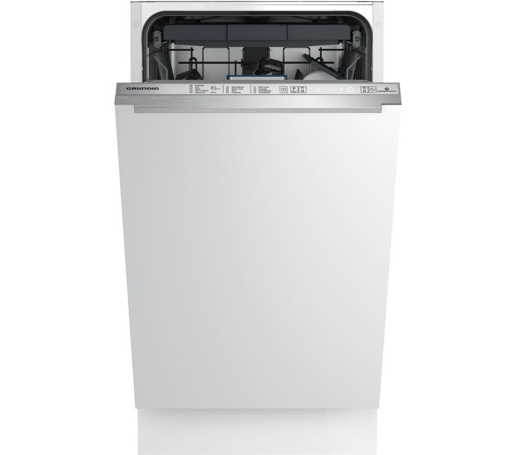 GRUNDIG GSV41820 Slimline Fully Integrated Dishwasher