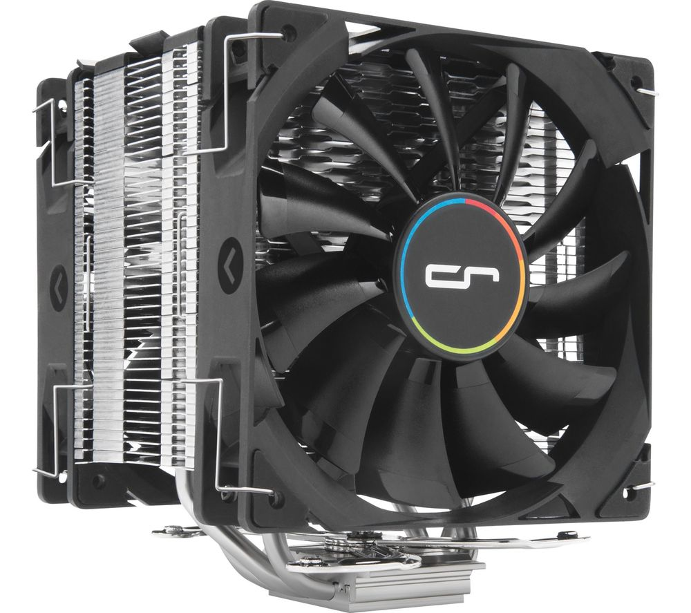 Image of H7 120 mm CPU Cooler - Black & Silver, Black