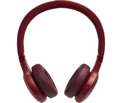 JBL Live 400BT LIVE400BTRED Wireless Bluetooth Headphones - Red