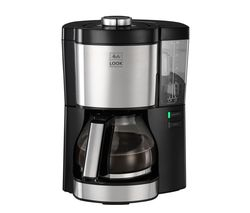 MELITTA Look V Perfection Filter Coffee Machine - Black & Stainless Steel