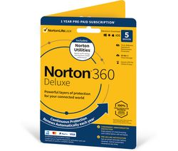 360 Deluxe (2020) & Norton Utilities - 1 year for 5 devices
