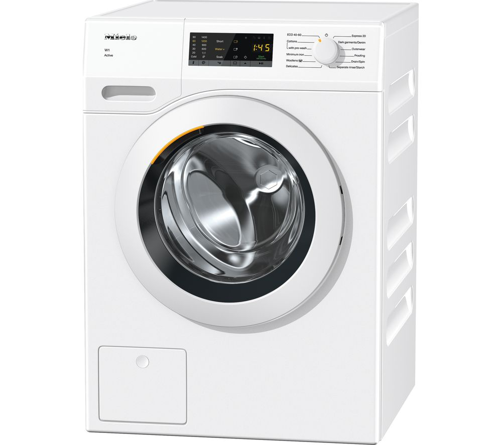 MIELE W1 WCA030 7 kg 1400 Spin Washing Machine - White, White