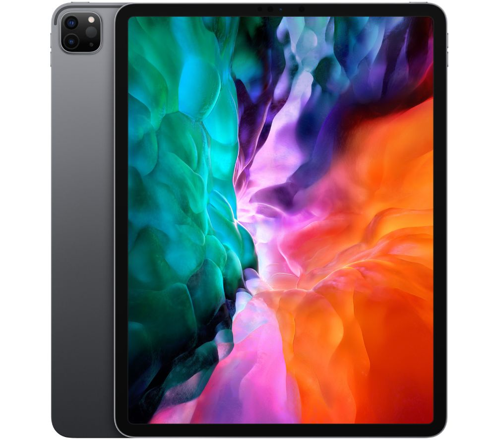 "Image of APPLE 12.9"" iPad Pro (2020) - 256 GB, Space Grey, Grey"