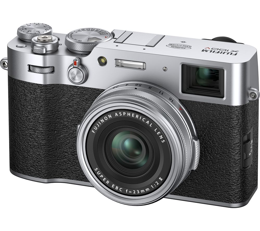 Click to view product details and reviews for Fujifilm X100v High Performance Compact Camera Silver Silver.