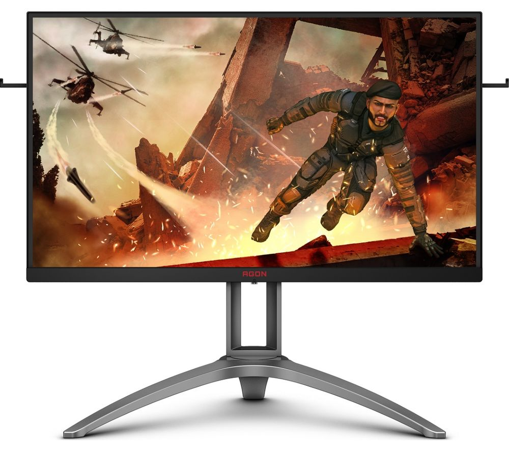 "Image of AOC AG273QX Quad HD 27"" VA Gaming Monitor - Black & Silver, Black"