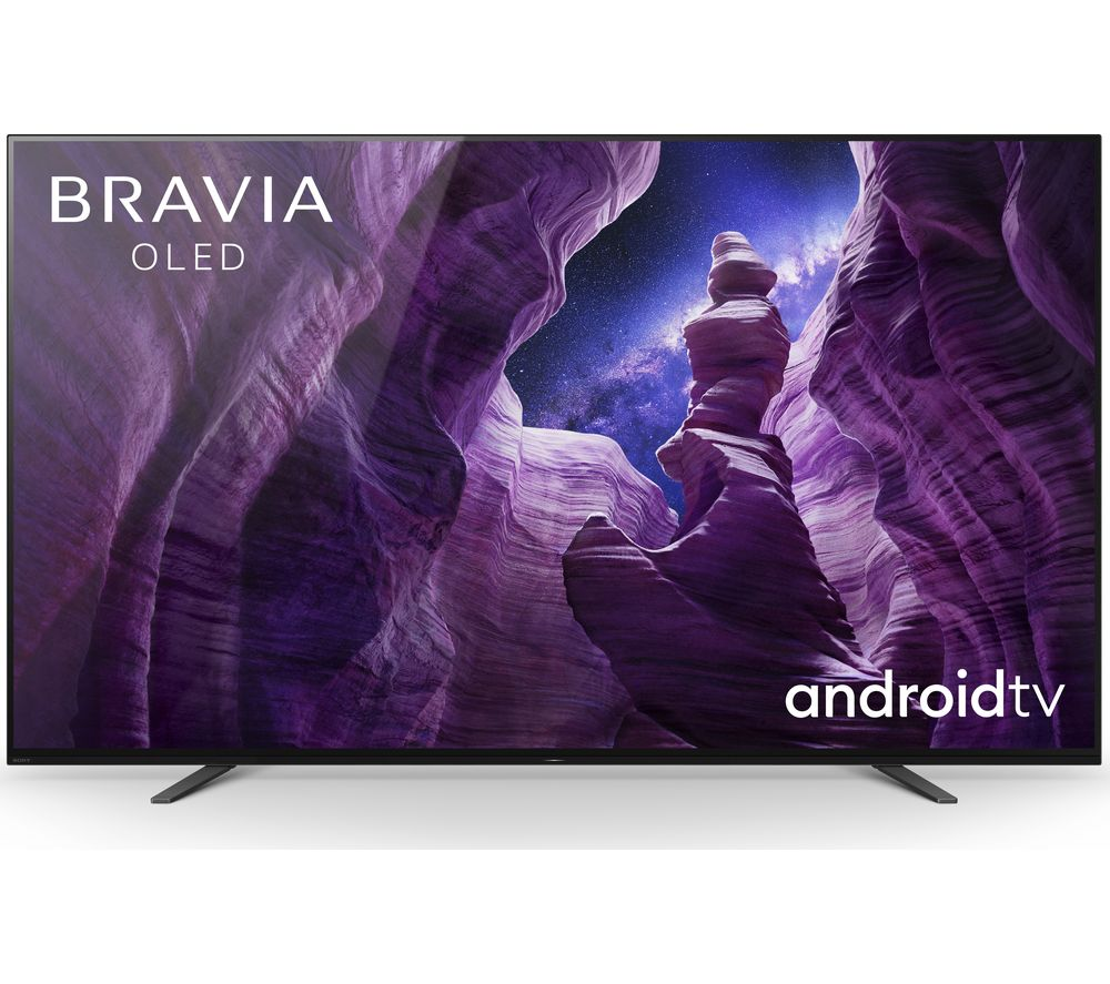 "SONY BRAVIA KD55A8BU 55"" Smart 4K Ultra HD HDR OLED TV with Google Assistant"