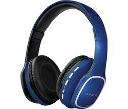 Phonic VK-2002-BL Wireless Bluetooth Headphones - Blue