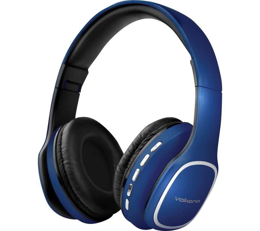 VOLKANO Phonic VK-2002-BL Wireless Bluetooth Headphones - Blue