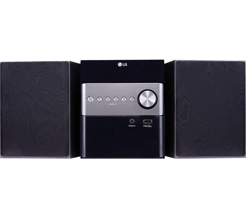 LG CM1560DAB Bluetooth Micro Hi-Fi System - Black