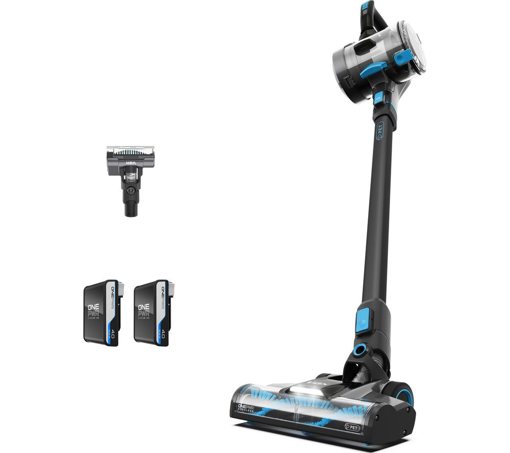 VAX ONEPWR Blade 4 Pet CLSV-B4DP Cordless Vacuum Cleaner -û Graphite & Blue