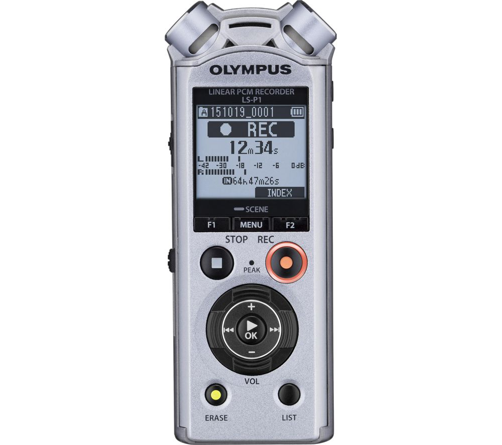 OLYMPUS V414141SE050 Digital Voice Recorder