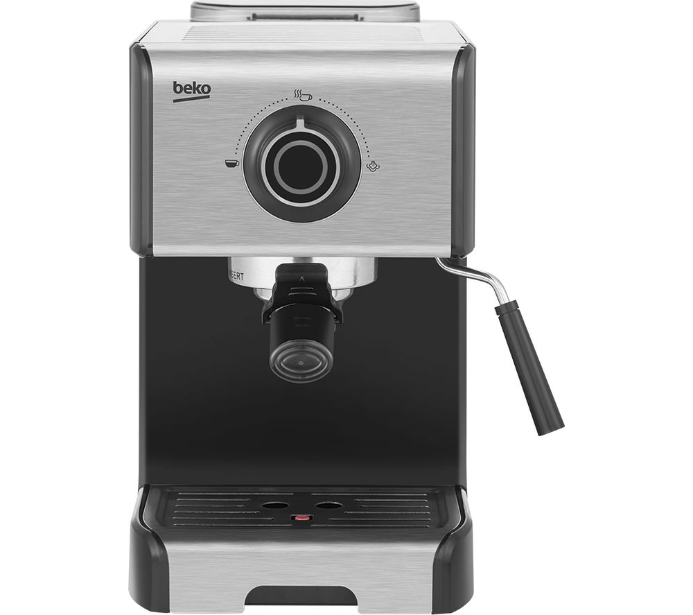 BEKO CEP5152B Manual Espresso Coffee Machine - Stainless Steel