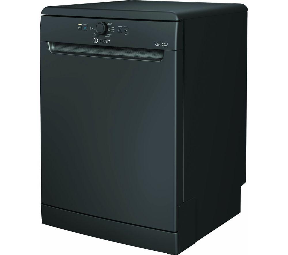 INDESIT DFE 1B19 B UK Full-Size Dishwasher - Black