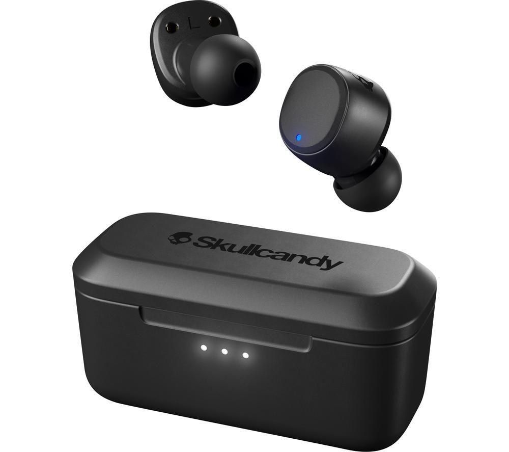 SKULLCANDY Spoke Wireless Bluetooth Earphones - Black