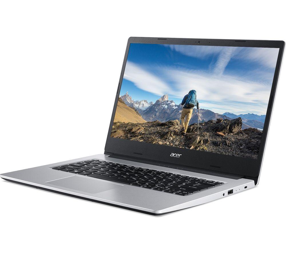 ACER Aspire 3 14inch Laptop - AMD Ryzen 3, 128 GB SSD, Silver