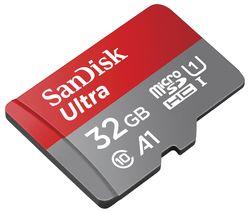 Ultra Class 10 microSDHC Memory Card - 32 GB