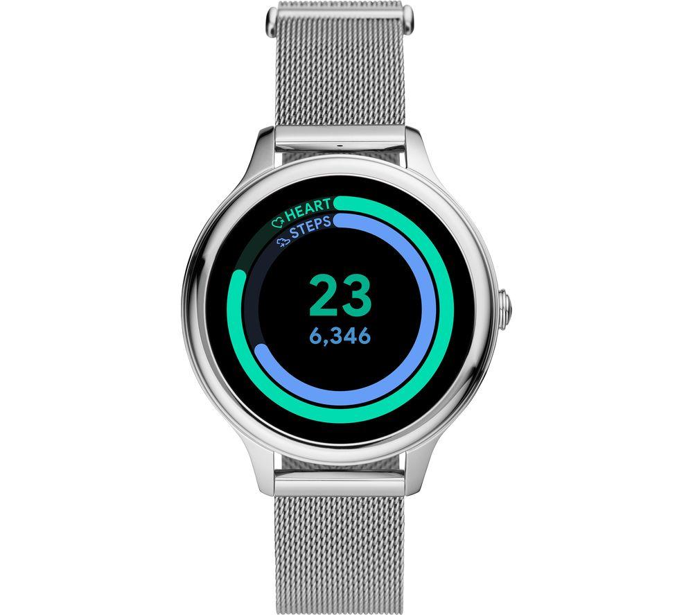 FOSSIL Gen 5E FTW6071 Smartwatch - Silver, Mesh Strap