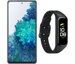 Galaxy S20 FE (128 GB, Cloud Mint) & Galaxy Fit2 (Black, Universal) Bundle