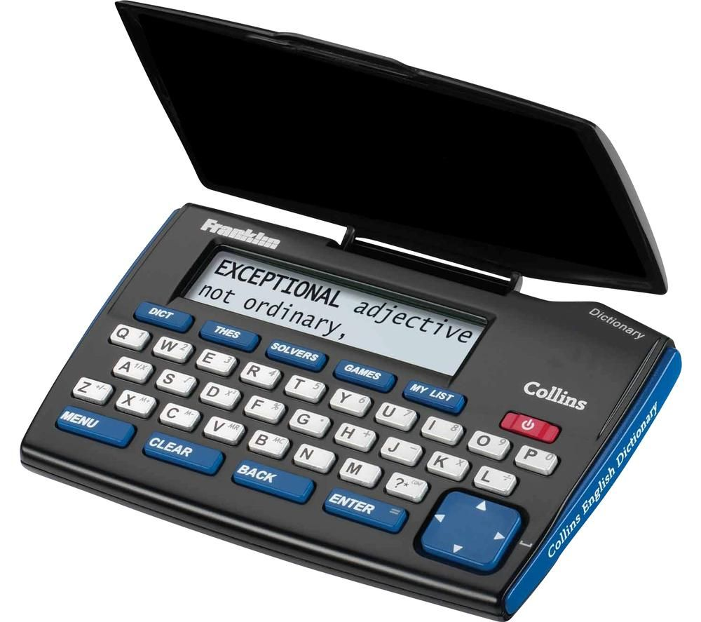 FRANKLIN DMQ221 Express Edition Collins English Electronic Dictionary and Thesaurus