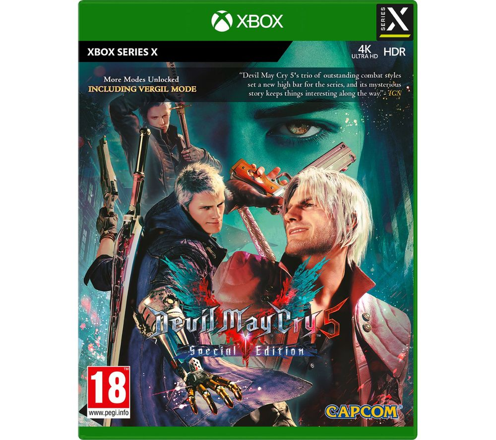 XBOX Devil May Cry V: Special Edition