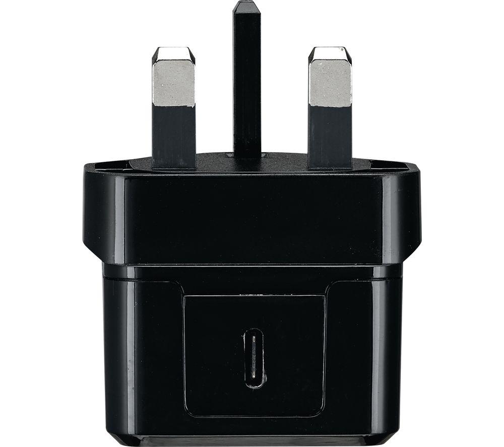 GOJI G20WM22 Universal USB Type-C Charger - Black, Black
