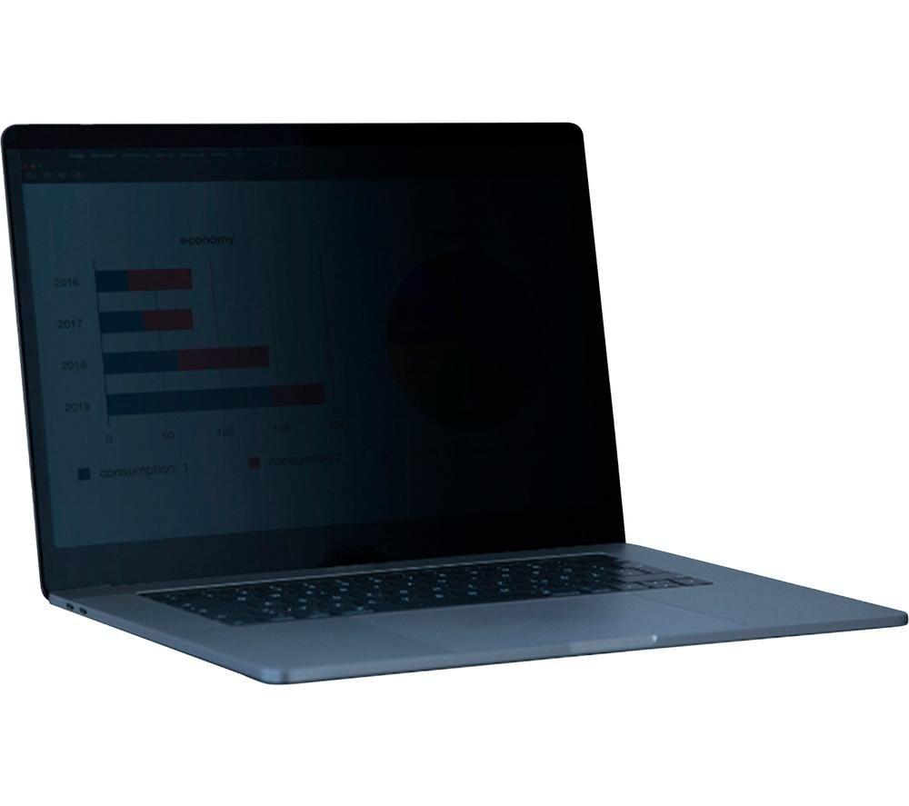 "KAPSOLO KAP200100 Privacy Filter 12.5"" Laptop Screen Protector, Black"