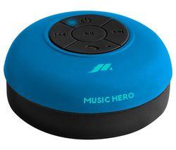 Music Hero Octopump Portable Bluetooth Wireless Speaker - Cyan Blue