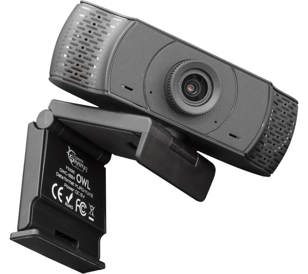 Image of WHITE SHARK GWC-004 OWL Full HD Gaming Webcam, White