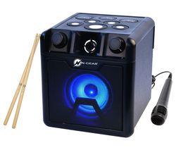 Drum Block 420 Portable Bluetooth Karaoke Speaker - Black