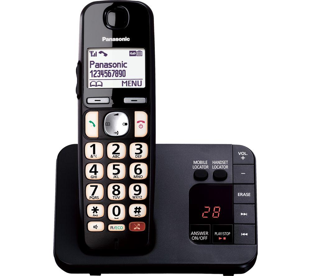 PANASONIC KX-TGE820EB Cordless Phone