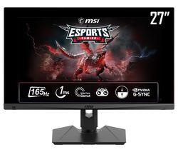 """Optix MAG274QRF-QD Quad HD 27"""" IPS Gaming Monitor - Black"""