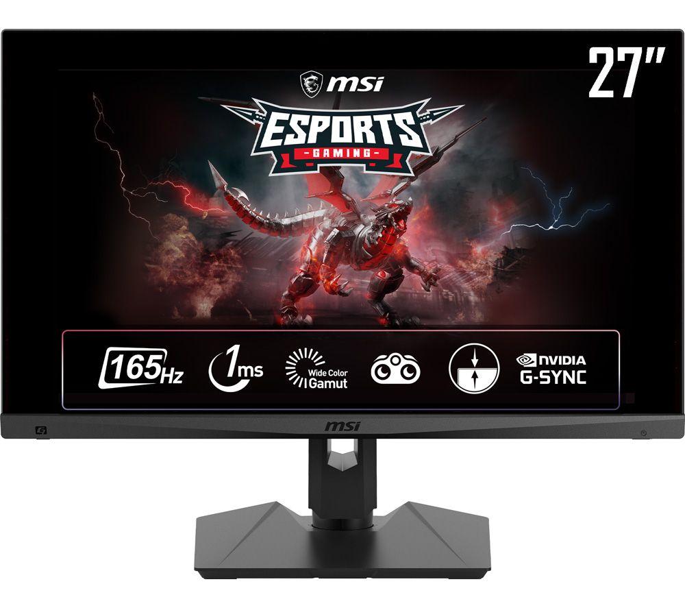 """MSI Optix MAG274QRF-QD Quad HD 27"""" IPS Gaming Monitor - Black"""