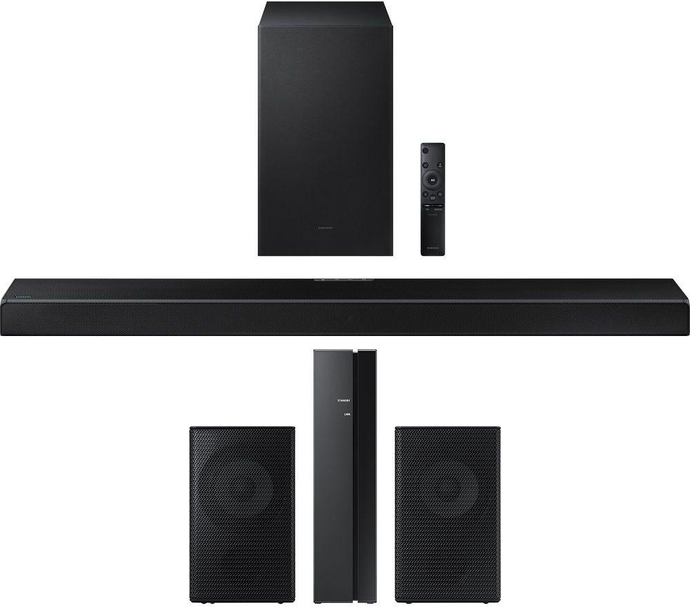 SAMSUNG HW-Q600A/XU 3.1.2 Wireless Sound Bar with Dolby Atmos & Wireless Rear Speaker Kit Bundle