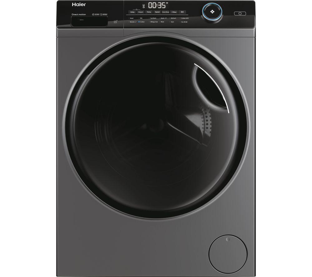 HAIER I-Pro Series 5 HW100-B14959S8U1UK WiFi-enabled 10 kg 1400 rpm Washing Machine - Anthracite, Anthracite