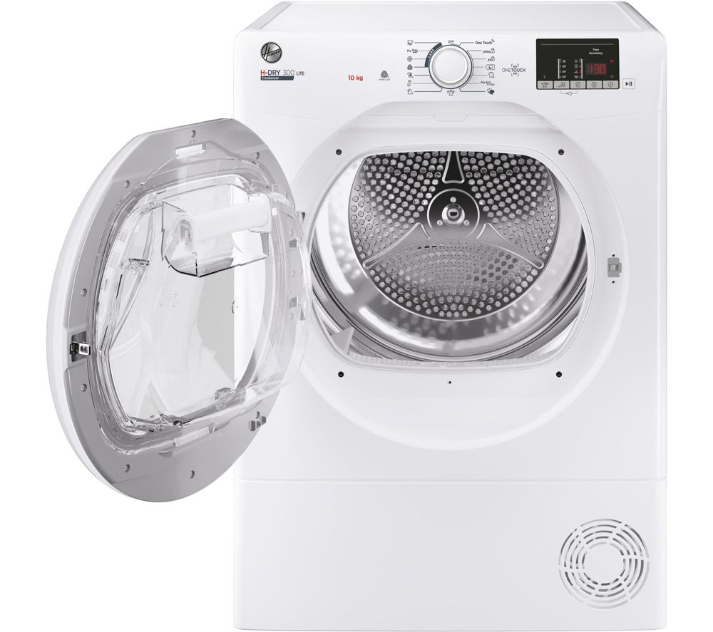 HOOVER H-Dry 300 HLE C10DE WiFi-enabled 10 kg Condenser Tumble Dryer - White