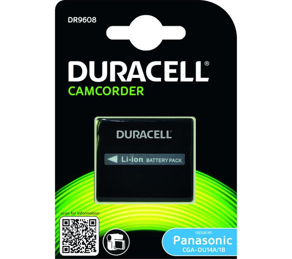 Image of DURACELL DR9608 Lithium-ion Camcorder Battery