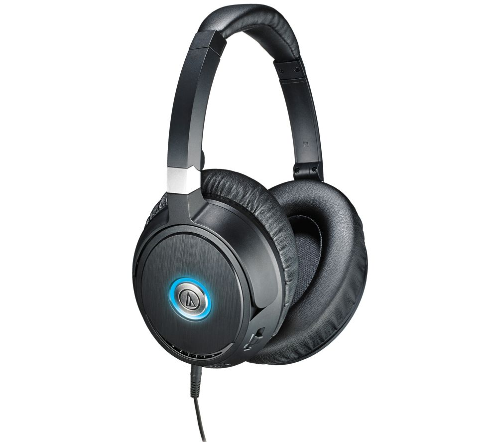 AUDIO TECHNICA QuietPoint ATH-ANC70 Noise-Cancelling Headphones - Black