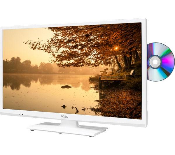 buy logik l24hedw15 24 led tv with built in dvd player. Black Bedroom Furniture Sets. Home Design Ideas