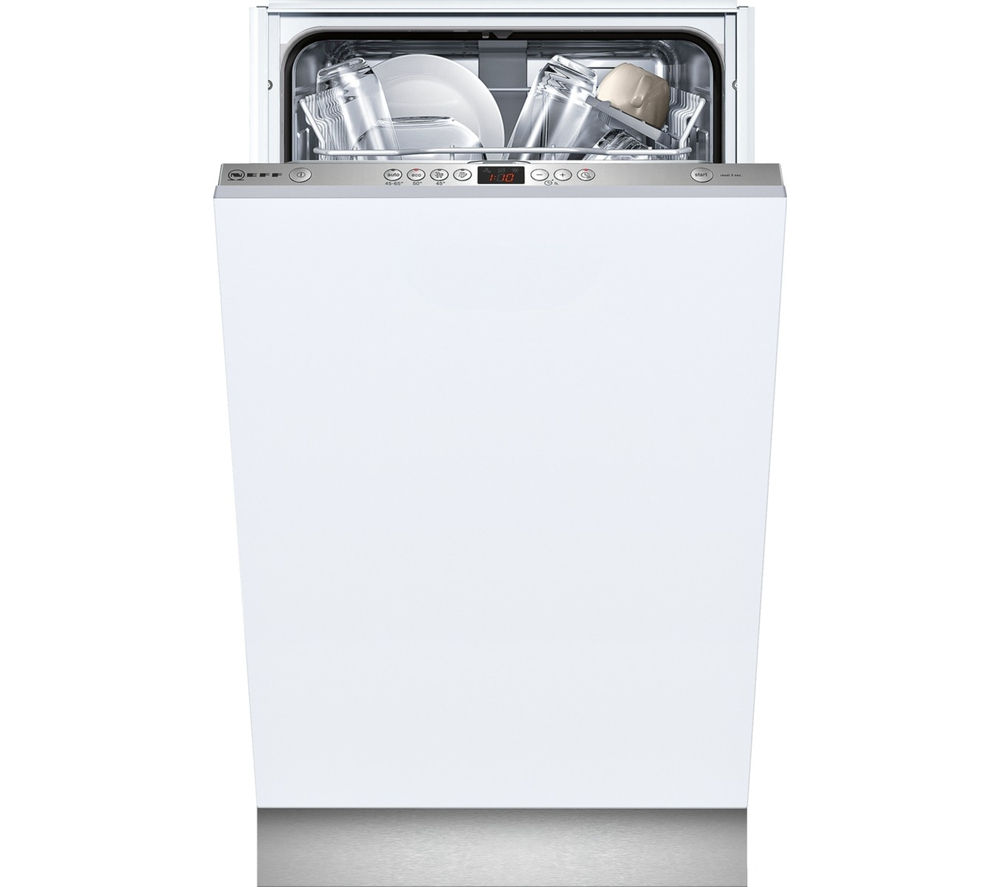 NEFF  S58T40X0GB Slimline Integrated Dishwasher