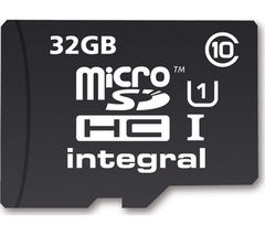 INTEGRAL UltimaPro microSDHC Card - 32 GB