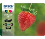 EPSON Strawberry 29 Cyan, Magenta, Yellow & Black Ink Cartridges - Multipack